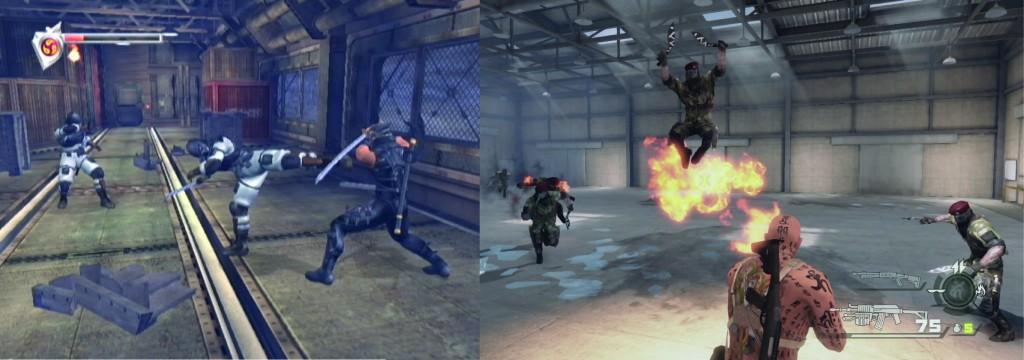 Lequel de ces deux jeux est sorti en 2004?
