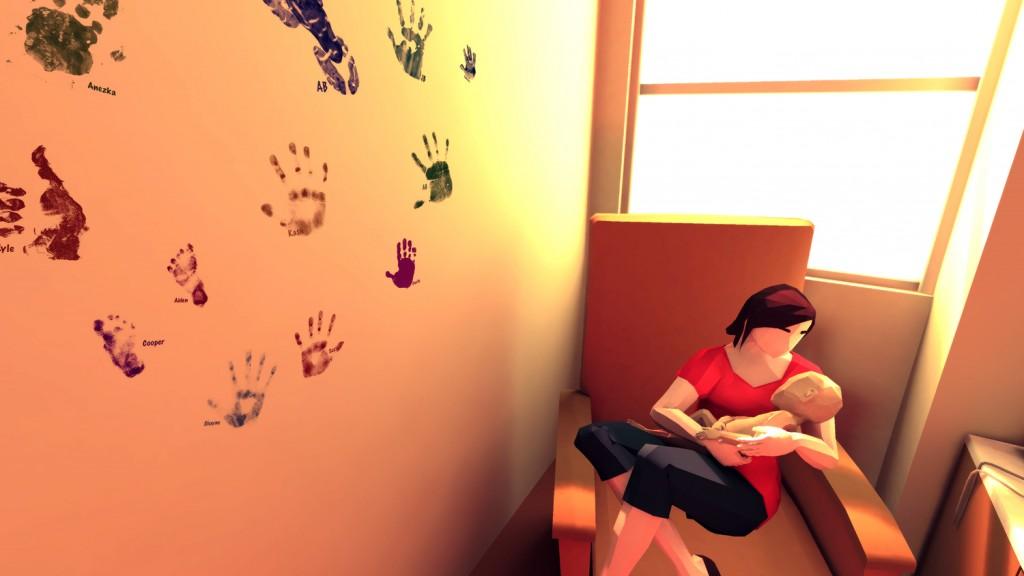 La maman est très pieuse, et sa foi sera mise à rude épreuve. Le jeu explore également cette facette du combat.